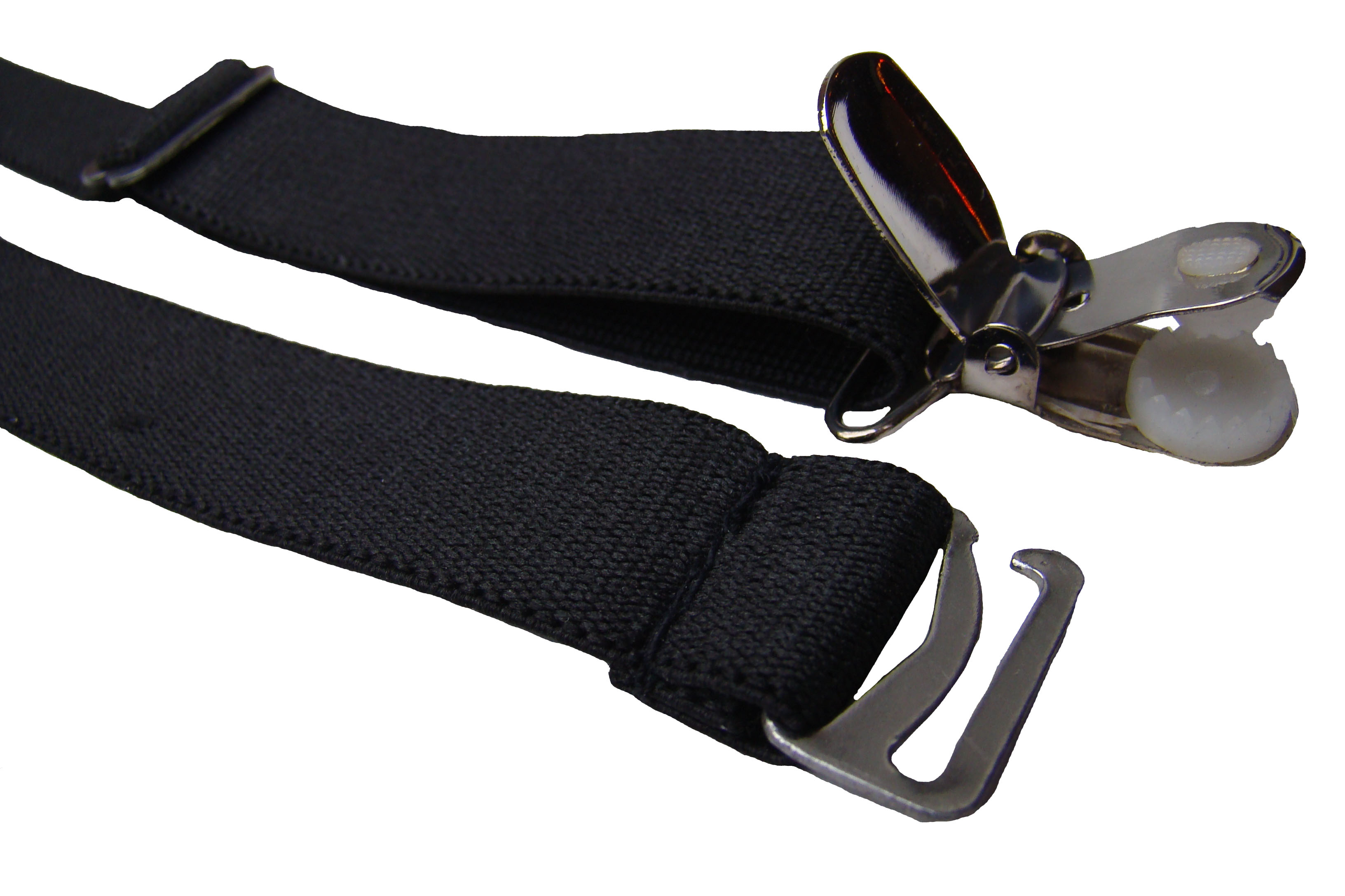 Modell: Strapshalter zum einhängen mit Metall Hosenträger Clip